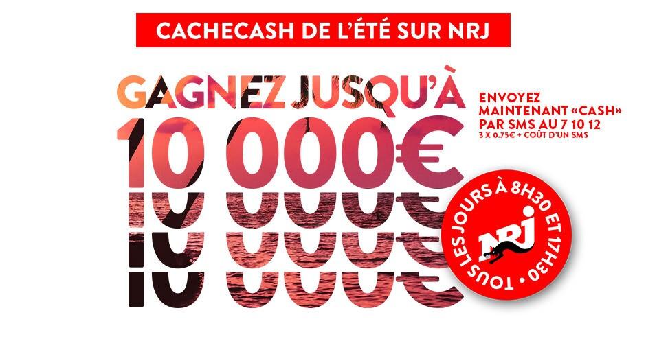 Cache Cash de l'été NRJ